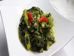 Broccoletti Ripassati con Olive ed Uvetta