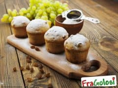 Muffin all'Uvetta