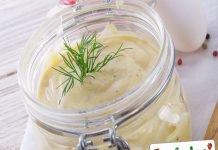 Per conservare la maionese preparata in casa