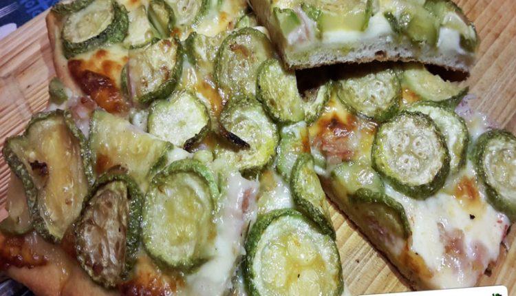 Focaccia con le Zucchine