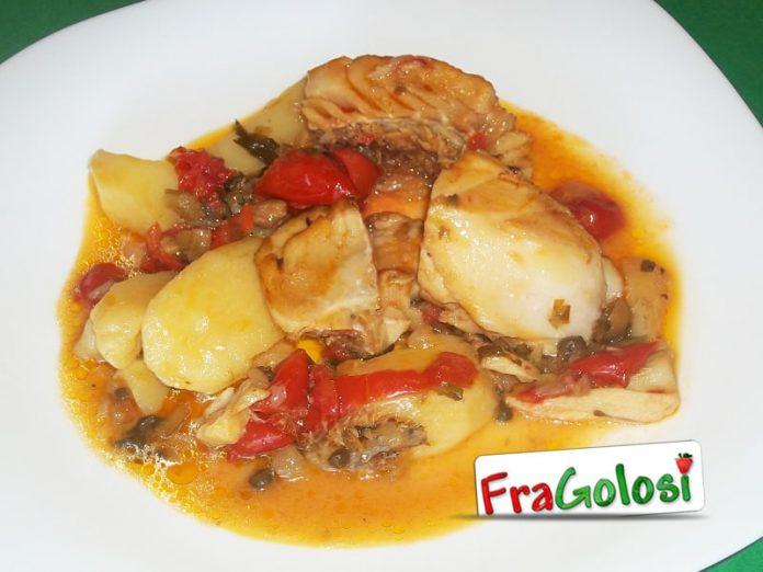 Ghiotta di pesce stocco alla messinese