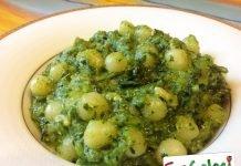 Gnocchi con il pesto di broccoli