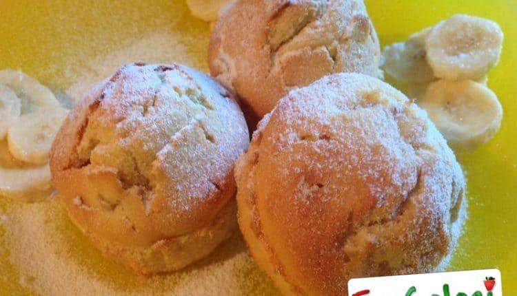 Muffins veloci alle banane