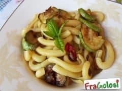 """Pasta con le Zucchine alla """"Sorrentina"""""""