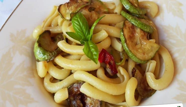 Pasta con le Zucchine alla Sorrentina
