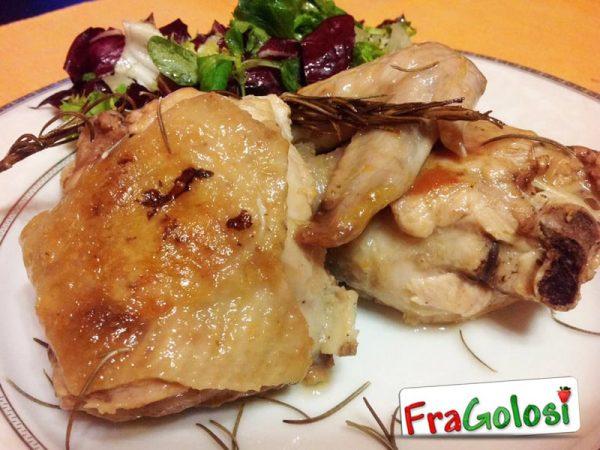 Pollo in padella