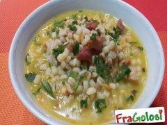 Zuppa di Orzo Perlato e Pancetta