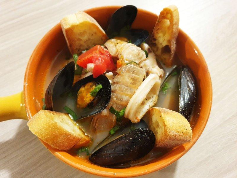 Zuppa di Pesce alla Casalinga
