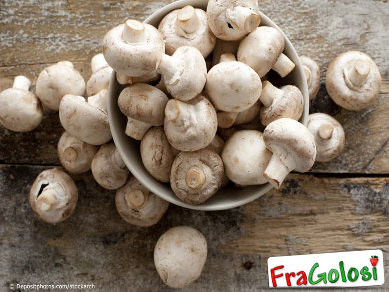 Come pulire i funghi freschi