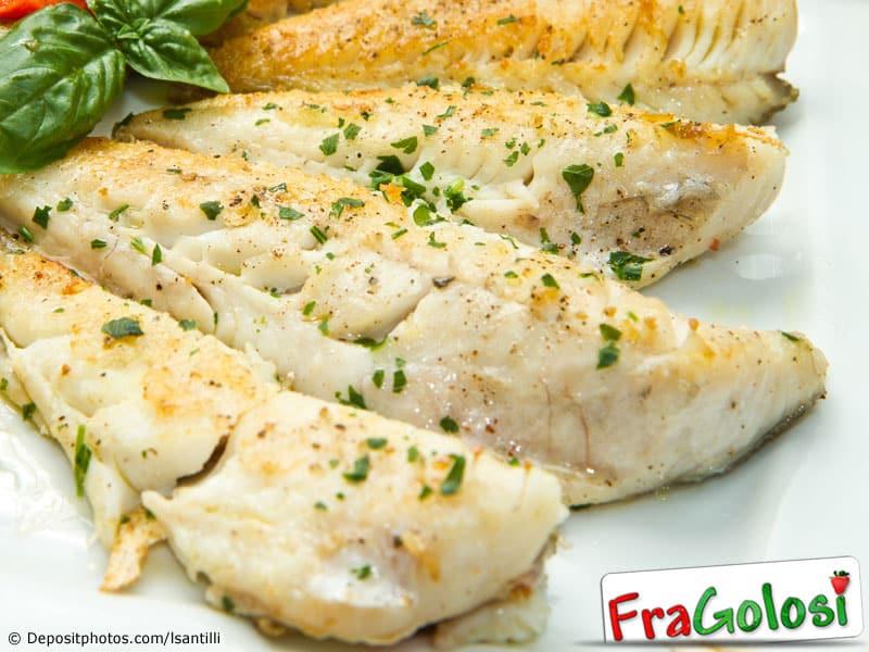 Filetti di pesce persico al forno ricetta di for Cucinare dietetico