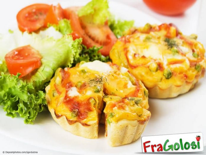 Torta salata alle verdure grigliate Light
