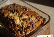 Dolce di pane e cioccolato