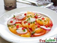 Insalata di Arance, Pomodori e Ravanelli