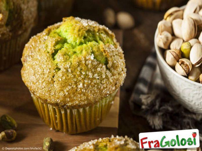 Muffins ai pistacchi