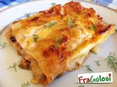 Lasagne con Pesce Spada e Melanzane