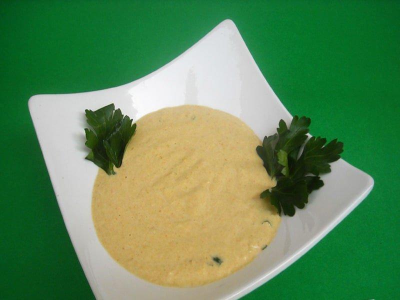 Zuppa Fredda di Peperoni e Cetrioli