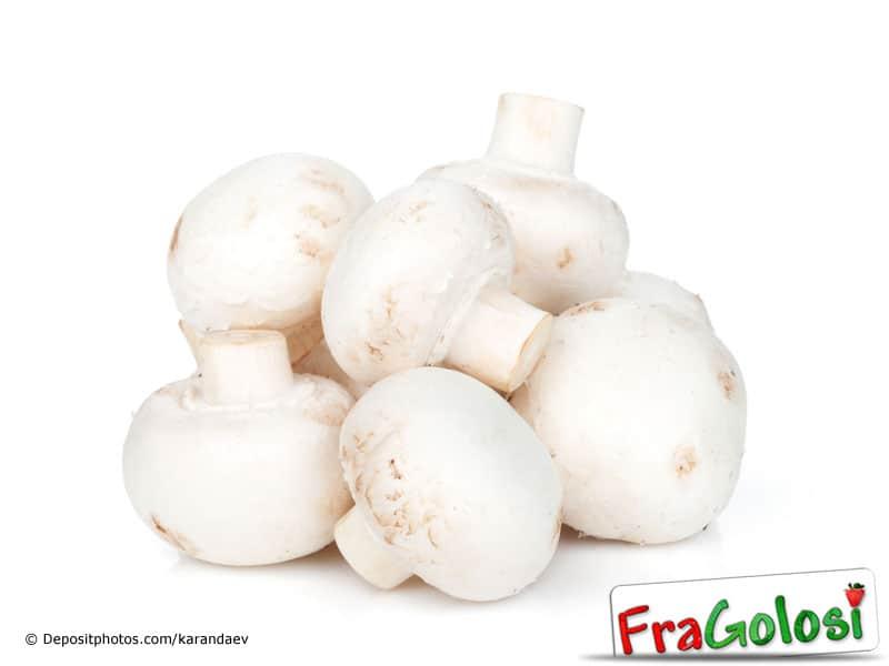 Come mantenere bianchi i funghi champignon
