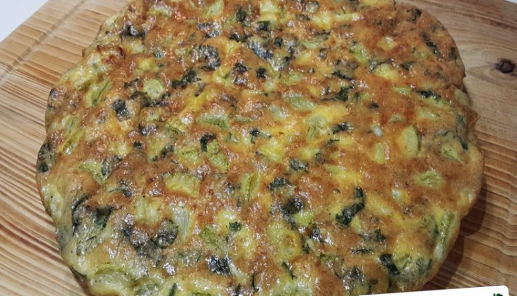 Frittata di Noci e Zucchine