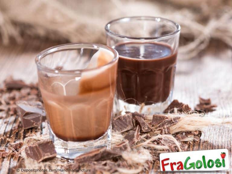 Liquore al cioccolato profumato al Rhum