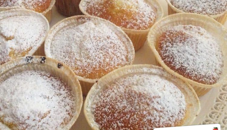 Muffins alla malvasia