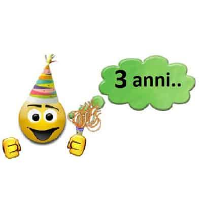 Compleanno dei tre anni di FraGolosi