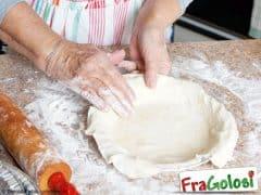 Pasta Brisée per Preparazioni Salate