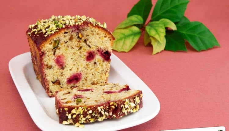 Plum cake ai pistacchi Siciliani