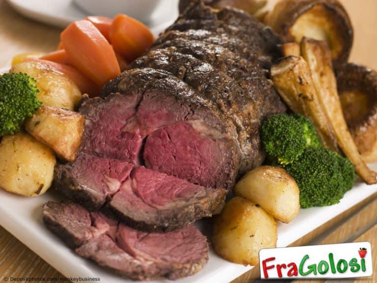 Roast beef semplice