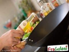 Come verificare la temperatura dell'olio per friggere