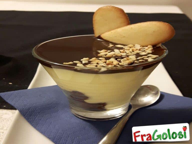 Dessert al Mascarpone con Ganache al Cioccolato