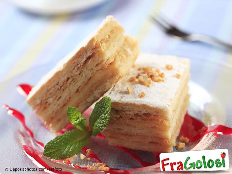 Millefoglie con crema di mele ricetta di - Immagini stampabili di mele ...