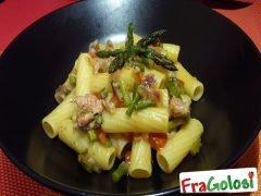 Pasta con Asparagi e Salsiccia