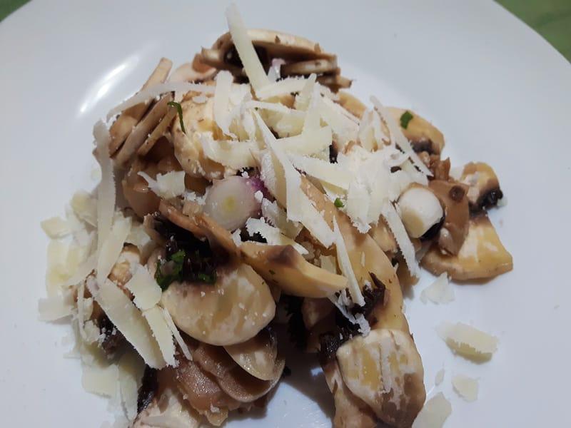 Funghi in insalata