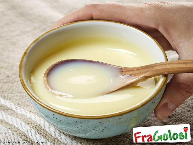 Latte condensato preparato in casa