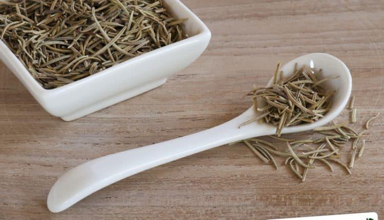 Metodo per essiccare il rosmarino