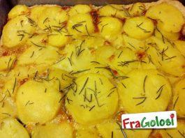 Focaccia con le patate