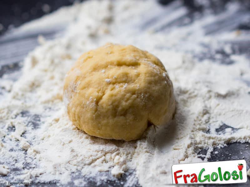 Impasto a base di farine miste