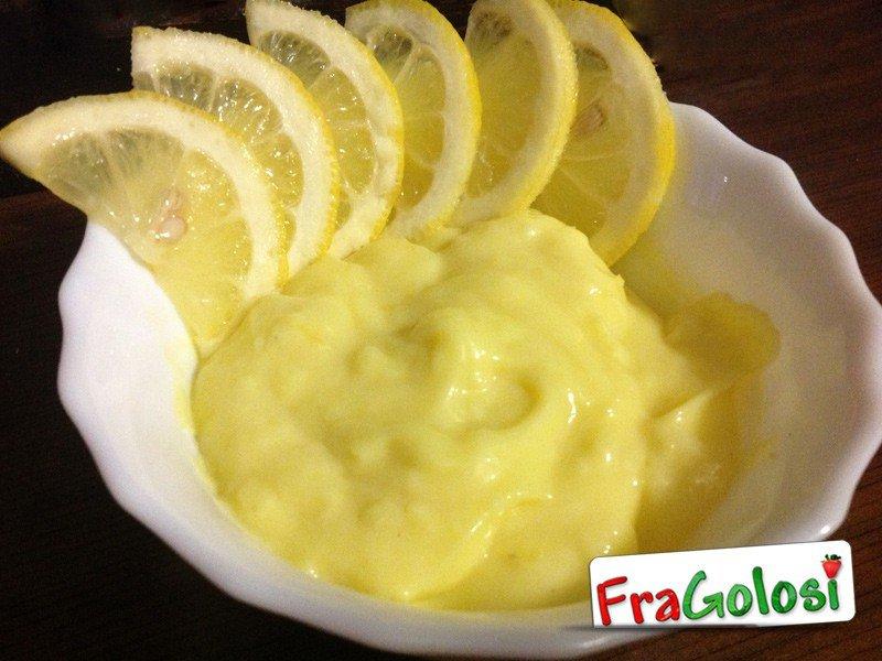 Crema dolce al limone