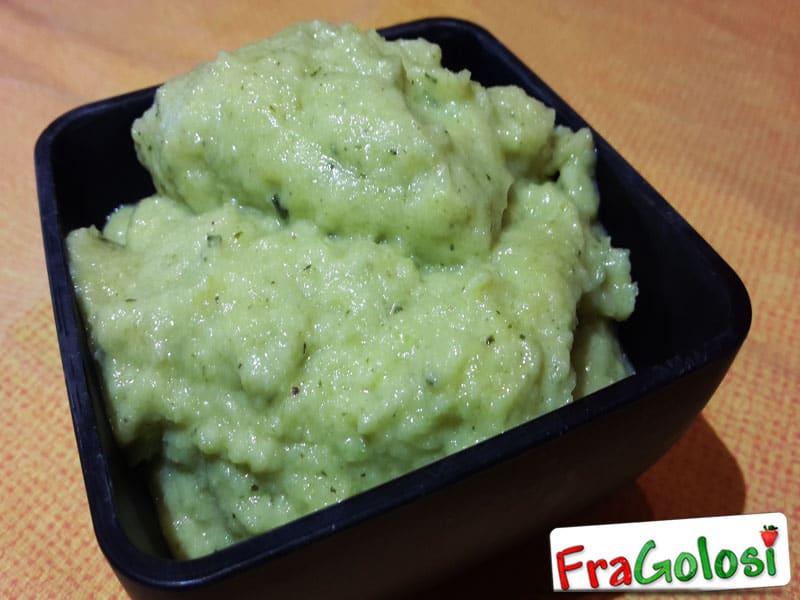 Zucchine in Crema