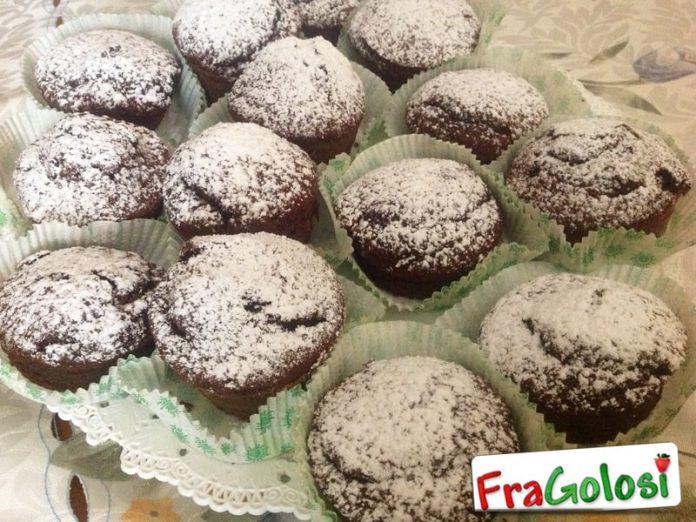 Muffins con doppio cioccolato