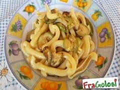 Pasta con le Zucchine Fritte (Pasta chi Cucuzzeddi Fritti)