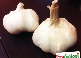 Per conservare l'aglio
