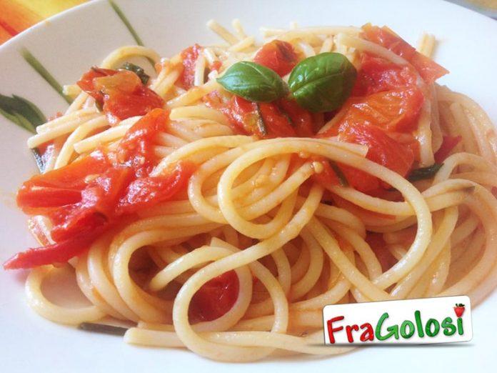 Spaghetti con i pomodorini