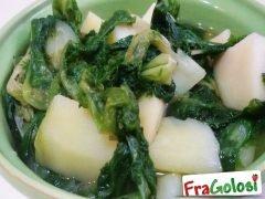 Zuppa di Patate e Scarola