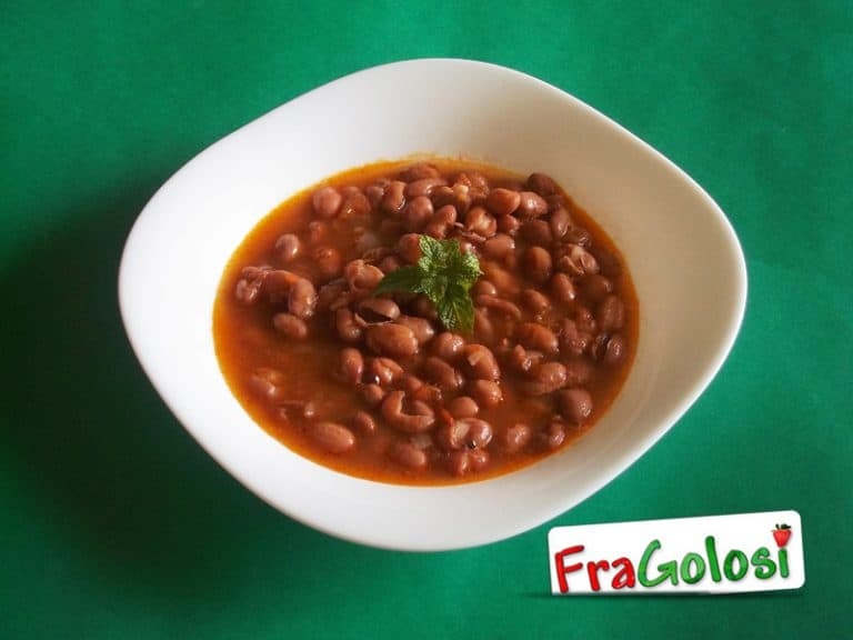 Zuppa di fagioli e lardo di colonnata