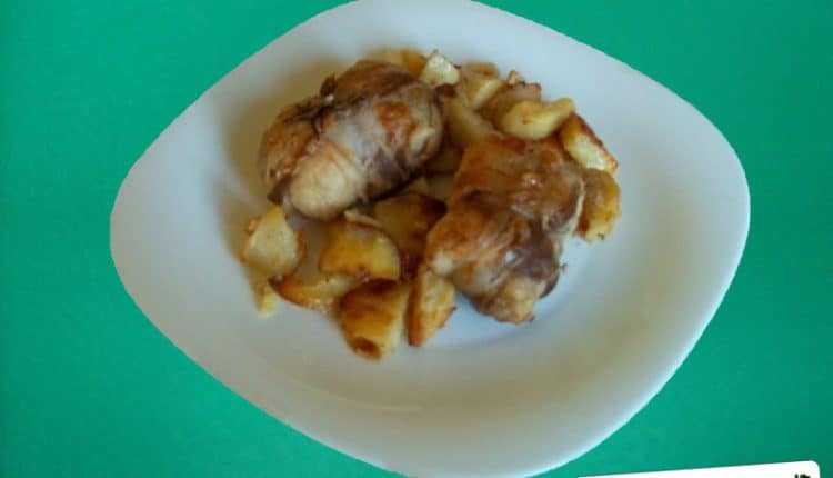 Fagottini di pollo ripieni
