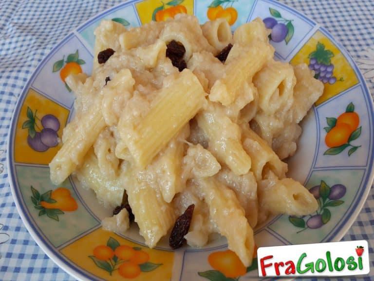 Pasta, Uvetta e Cavolfiore