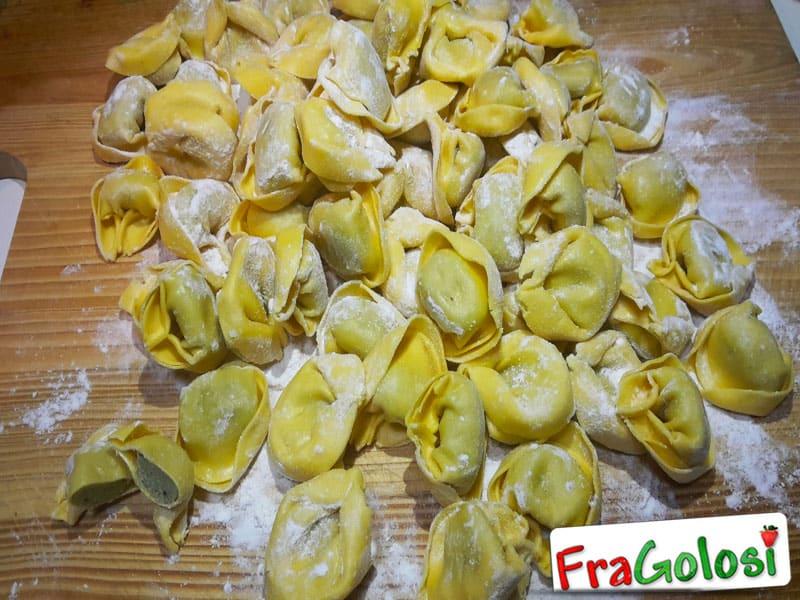 Tortelloni con ricotta e spinaci