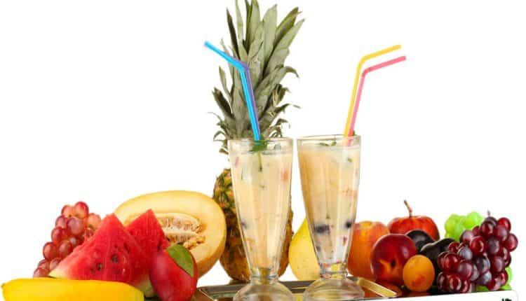 Frappé alla frutta fresca