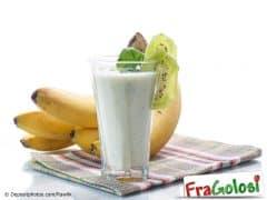 Frappé di Kiwi, Banana e Mandarino